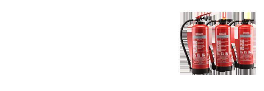 Pulverlöscher